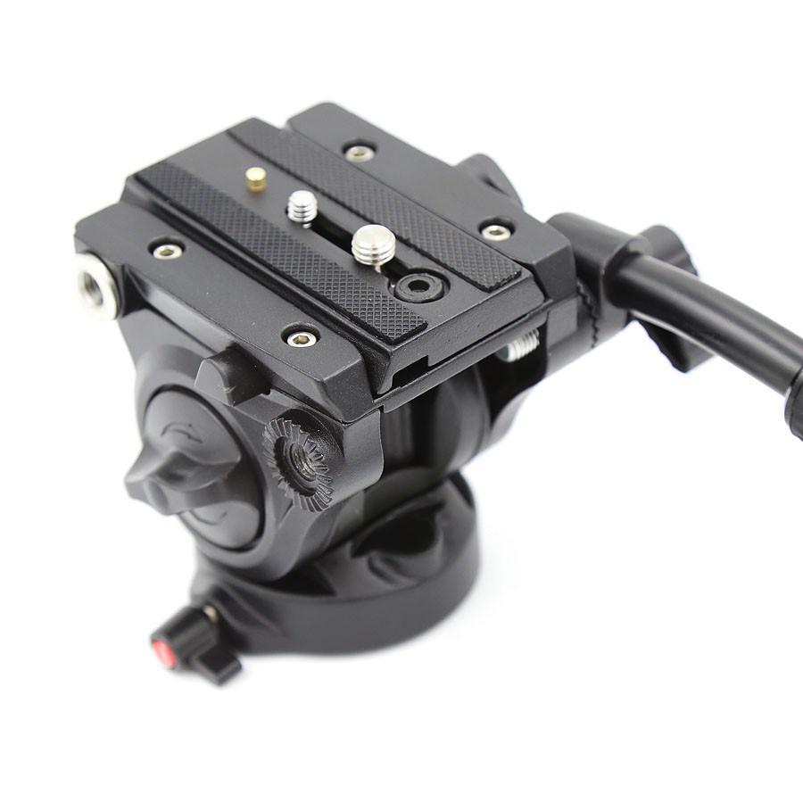 Cabeça Fluida para Tripe DSLR ou Video - VH-05 Pro Video - 5,0kg  - Diafilme Materiais Fotográficos