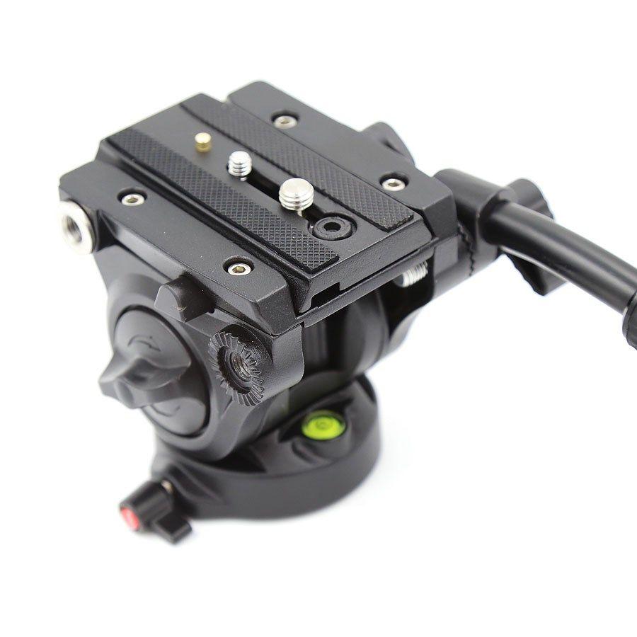 Cabeca Fluida para Tripe DSLR ou Video - VH-05 Video - 3,5kg  - Diafilme Materiais Fotográficos