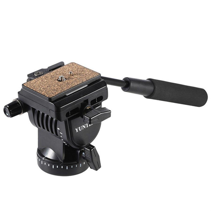 Cabeca Fluida para Tripe DSLR ou Video - Yunteng YT950 - 3,5kg  - Diafilme Materiais Fotográficos