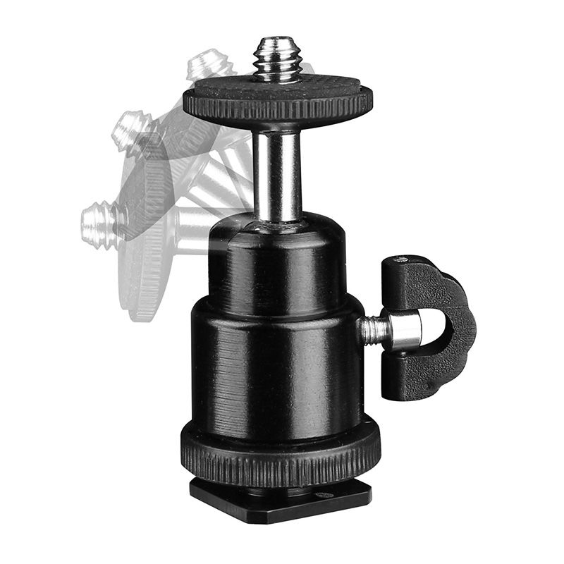 Cabeca Micro Ball Head para Montagem em Sapata - TM13  - Diafilme Materiais Fotográficos