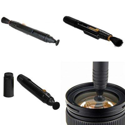 Caneta para Limpeza de Objetivas DSLR Carbono/Pincel - WOA2051  - Diafilme Materiais Fotográficos