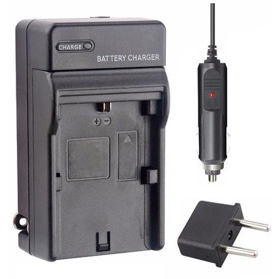 Carregador Bateria Li-ion para Iluminador Led - NP F550/F570  - Diafilme Materiais Fotográficos