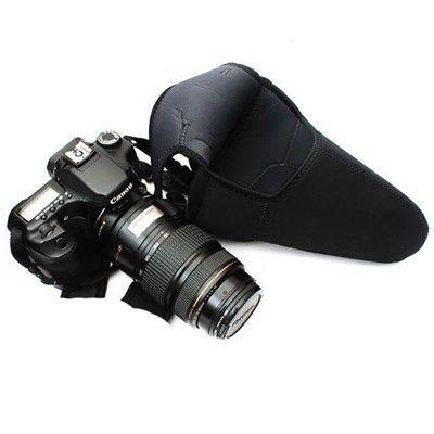 Case Câmera DSLR com Tele Objetiva em NeoPrene - SB12M  - Diafilme Materiais Fotográficos