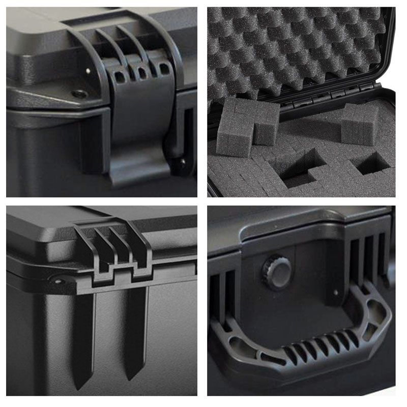 Case Mala Rigida - CaseONE YF2133L Foam C35,5xP27,0xA14,5cm  - Diafilme Materiais Fotográficos