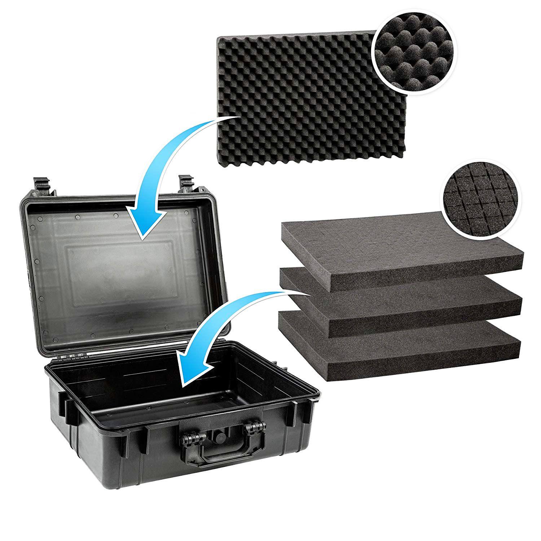 Case Mala Rigida - CasePRO YF2838H Foam L34xH17xC41cm  - Diafilme Materiais Fotográficos