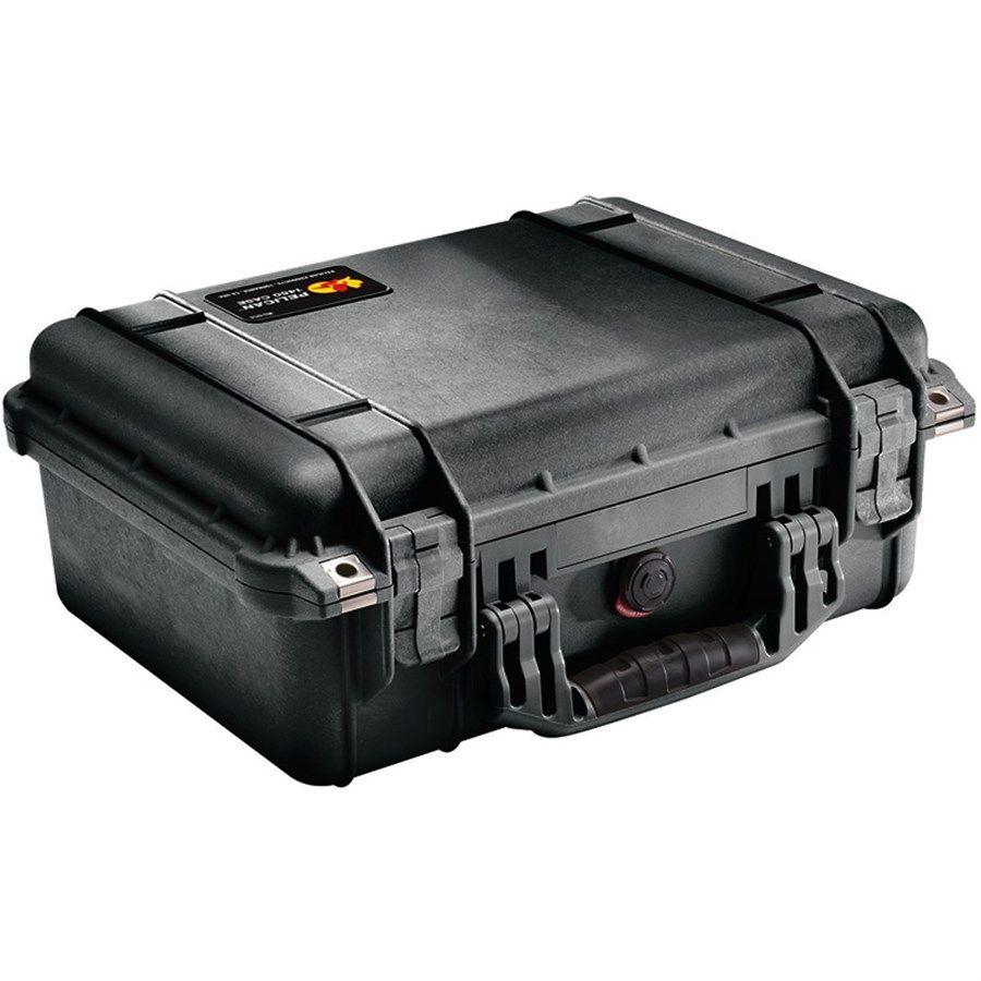 Case Rigido Protecao Pelican 1450 Foam L33xH17,3xC41,8cm  - Diafilme Materiais Fotográficos