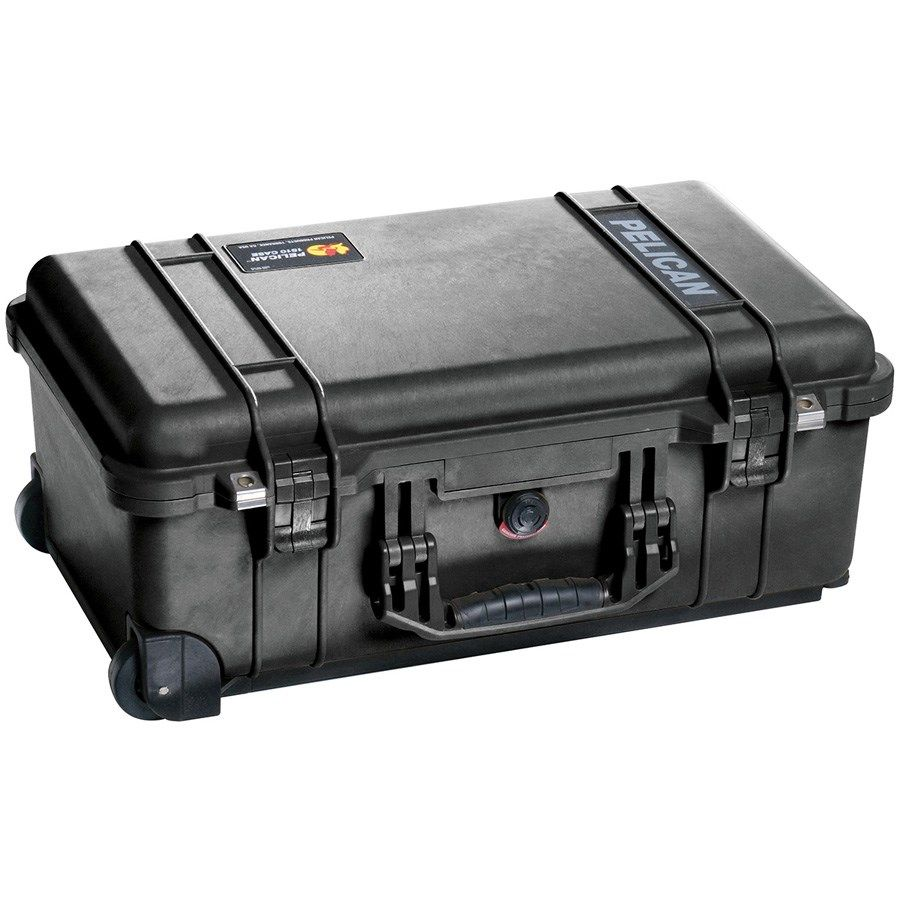 Case Rigido Protecao Pelican 1510 Travel Foam L22,9xH55,9xC35,1cm  - Diafilme Materiais Fotográficos
