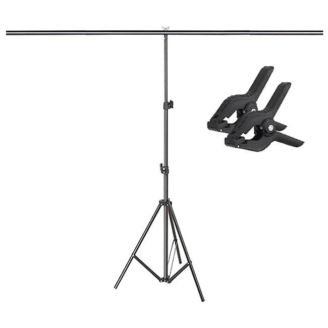 Kit Fundo Infinito Fotografico Backdrop de PVC com Suporte - Laranja - 100x200 cm  - Diafilme Materiais Fotográficos