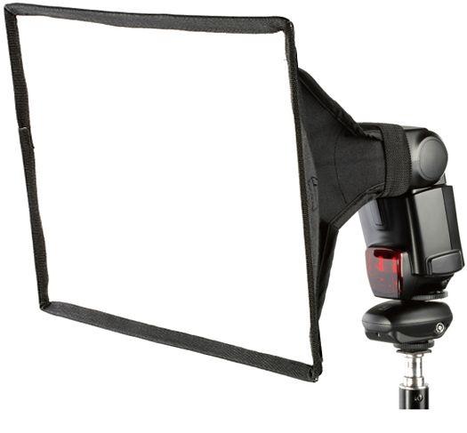 Difusor para Flash Dedicado Speedlight - Softbox 28x18cm  - Diafilme Materiais Fotográficos