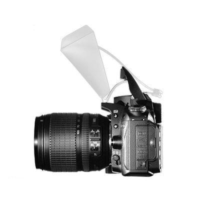 Difusor para Flash Popup - Mini Bounce  - Diafilme Materiais Fotográficos