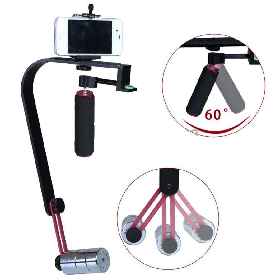 Estabilizador de Filmagem Steadycam DSLR e Vídeo - CSM-103 - 1,3kg  - Diafilme Materiais Fotográficos