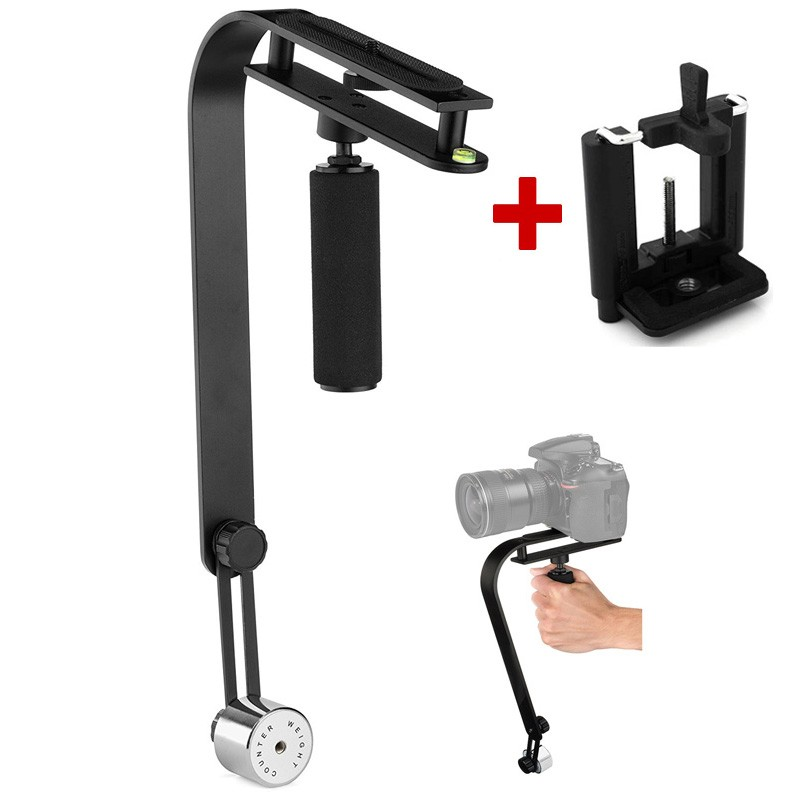 Estabilizador de Filmagem Steadycam DSLR Video Smartphone CSM-104 - 2,0kg  - Diafilme Materiais Fotográficos