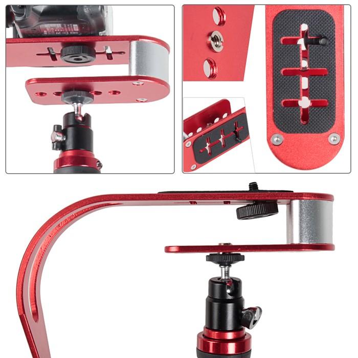 Estabilizador de Filmagem Steadycam DSLR Video Smartphone GoPro - CSM-105 - 0,950g  - Diafilme Materiais Fotográficos