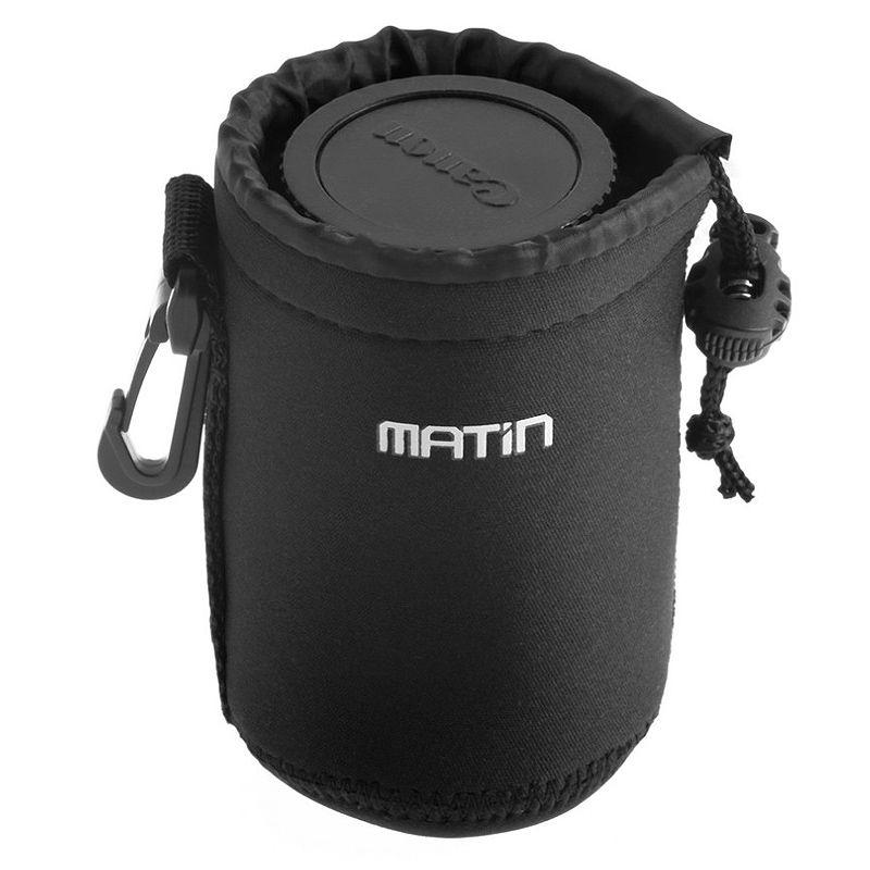 Estojo para objetiva - Matin SB03M - D10 x A12cm  - Diafilme Materiais Fotográficos