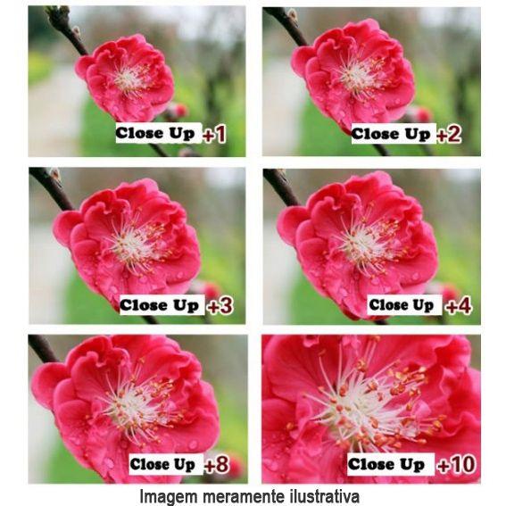 Filtro para Câmera Close Up +4 - FotoBestway 62mm  - Diafilme Materiais Fotográficos