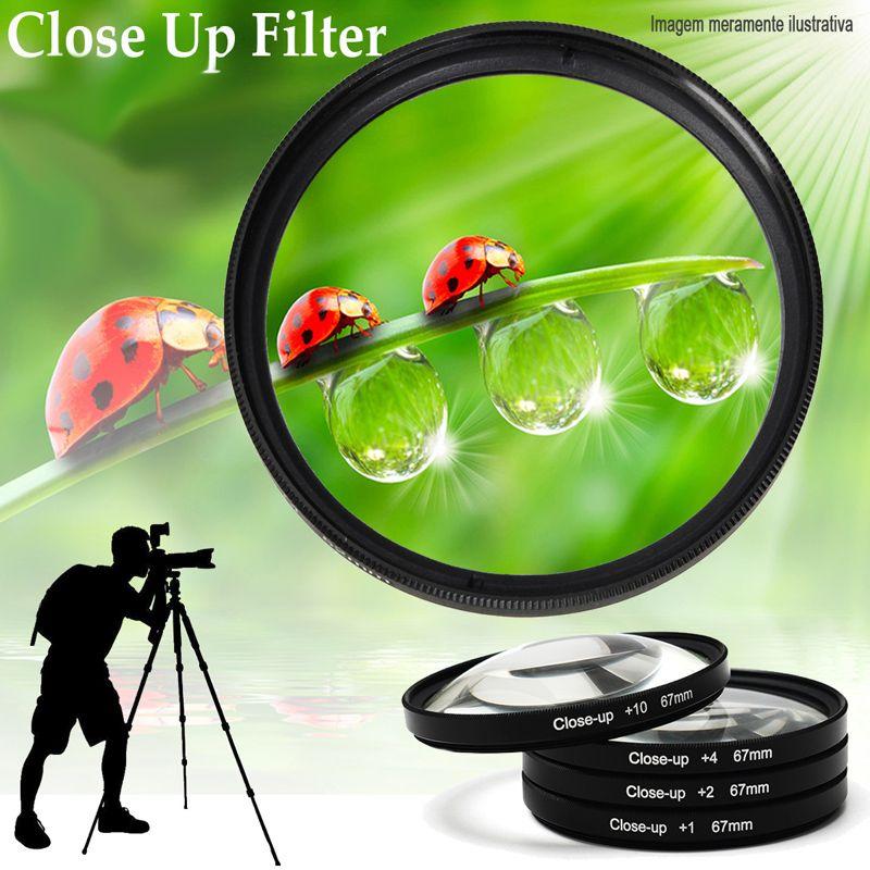 Filtro para Câmera Close Up Kit - FotoBestway 52mm  - Diafilme Materiais Fotográficos
