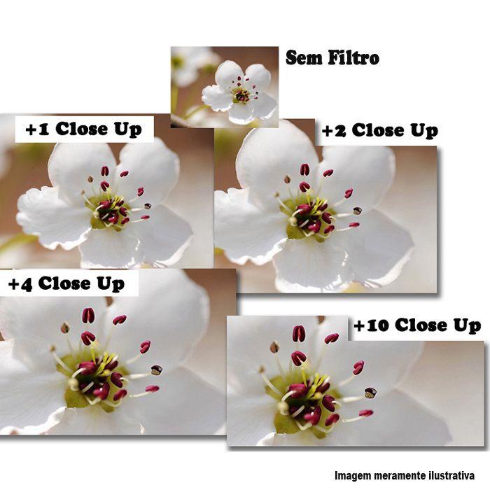 Filtro para Câmera Close Up Kit - FotoBestway 55mm  - Diafilme Materiais Fotográficos