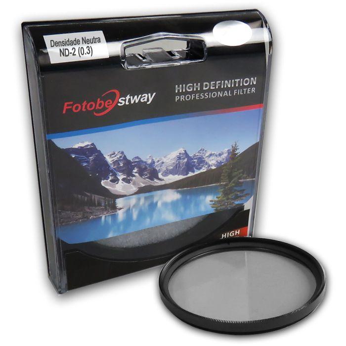 Filtro para Câmera Densidade Neutra ND-2 - Fotobestway 67mm  - Diafilme Materiais Fotográficos