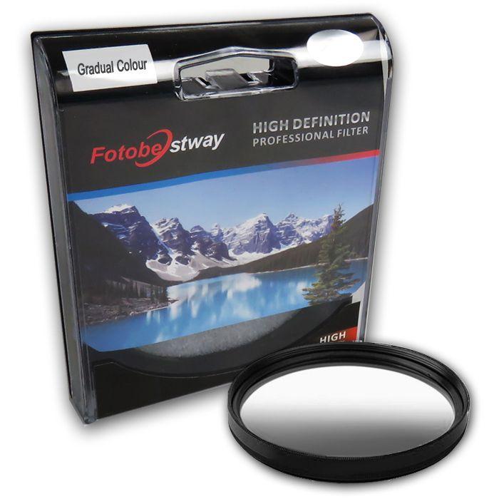 Filtro para Câmera Gradual Cinza - Fotobestway 77mm  - Diafilme Materiais Fotográficos