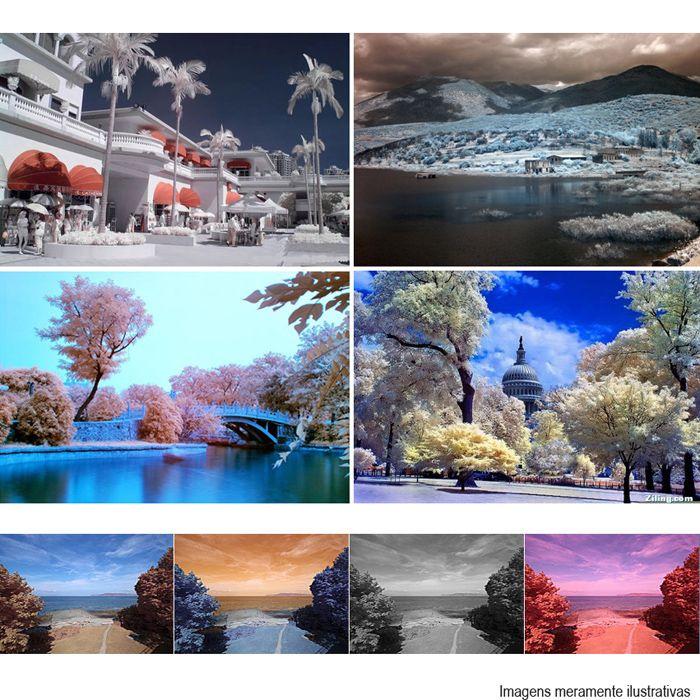 Filtro para Câmera Infra Vermelho IR 720 - Fotobestway 77mm  - Diafilme Materiais Fotográficos