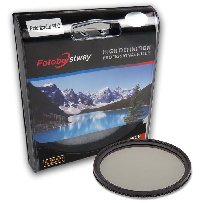 Filtro para Câmera Polarizador Circular PLC - Fotobestway 82mm  - Diafilme Materiais Fotográficos