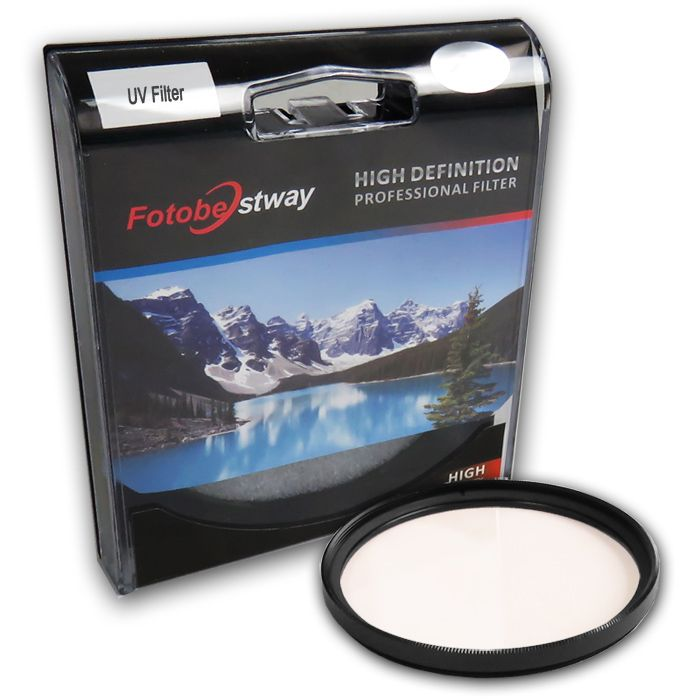 Filtro para Câmera Ultra Violeta UV - Fotobestway 43mm  - Diafilme Materiais Fotográficos