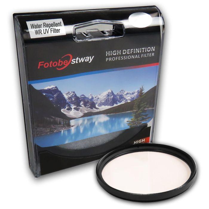 Filtro para Câmera Ultra Violeta UV - Fotobestway 77mm Water Repellent  - Diafilme Materiais Fotográficos