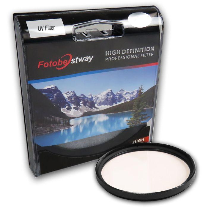 Filtro para Câmera Ultra Violeta UV - Fotobestway 82mm  - Diafilme Materiais Fotográficos