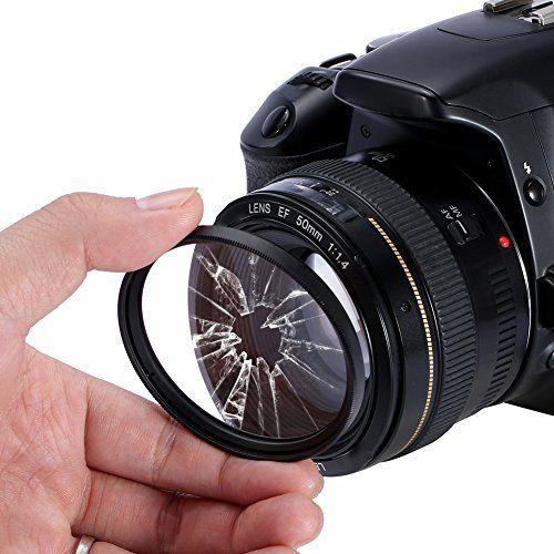 Filtro para Câmera Ultra Violeta UV - Serk 58mm  - Diafilme Materiais Fotográficos
