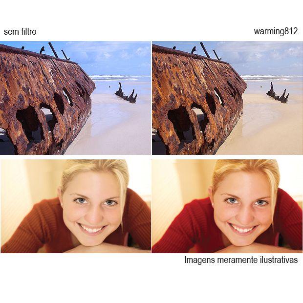 Filtro para Câmera Warming 812 - Fotobestway 67mm  - Diafilme Materiais Fotográficos