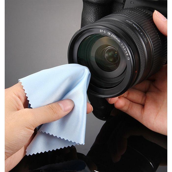 Flanela para Limpeza Geral - Leadwin - 25x25cm  - Diafilme Materiais Fotográficos