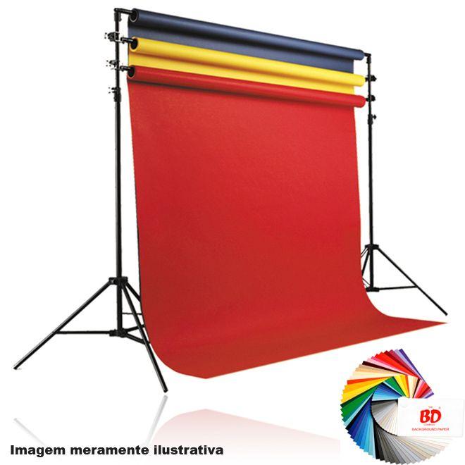 Fundo Fotográfico de Papel em Rolo - marca BD Black (101) - 11,0x2,70m  - Diafilme Materiais Fotográficos