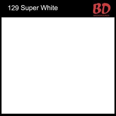 Fundo Fotográfico de Papel Rolo marca BD Super White (129) 11,0x2,70m  - Diafilme Materiais Fotográficos