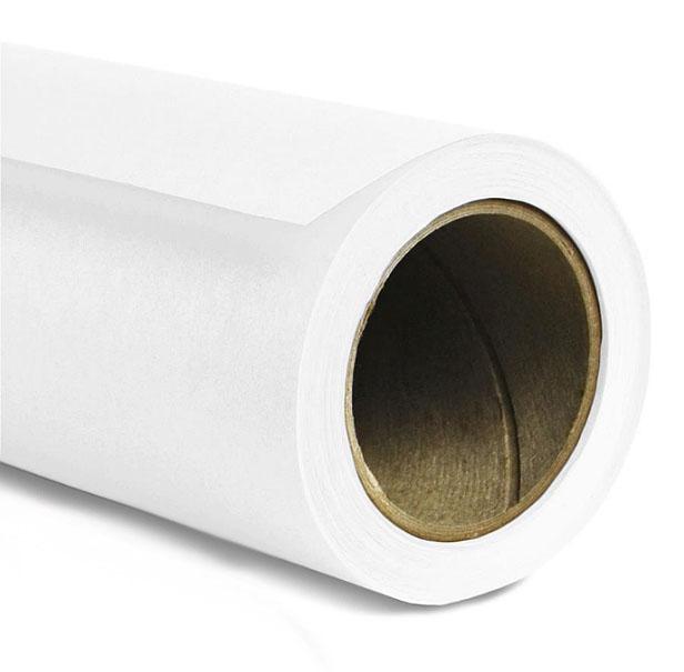 Fundo Fotográfico de Papel em Rolo - marca Painel Super Branco - 10,0x2,40m  - Diafilme Materiais Fotográficos