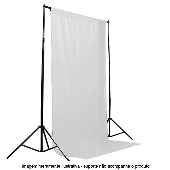 Fundo Fotografico de Tecido - Muslin Branco - 1,8x2,8m  - Diafilme Materiais Fotográficos