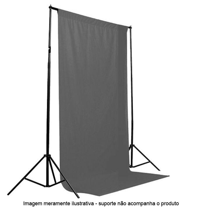 Fundo Fotografico de Tecido - Muslin Cinza - 1,8x2,8m  - Diafilme Materiais Fotográficos