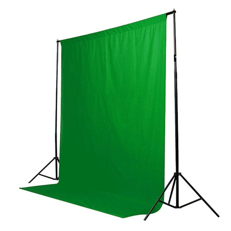 Fundo Fotográfico de Tecido - Muslin Verde Chroma - 6,0x3,0m  - Diafilme Materiais Fotográficos