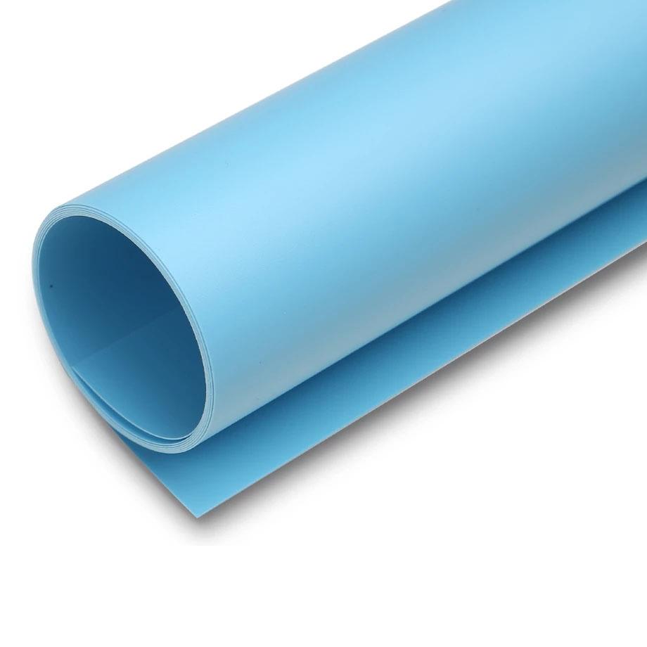 Fundo Infinito Fotografico Backdrop de PVC - Azul - 100x200 cm  - Diafilme Materiais Fotográficos