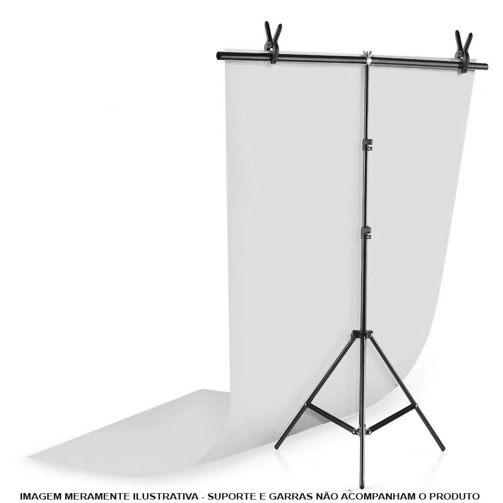 Fundo Infinito Fotografico Backdrop de PVC - Branco - 100x200 cm  - Diafilme Materiais Fotográficos