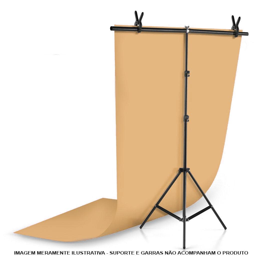 Fundo Infinito Fotografico Backdrop de PVC - Laranja - 100x200 cm  - Diafilme Materiais Fotográficos
