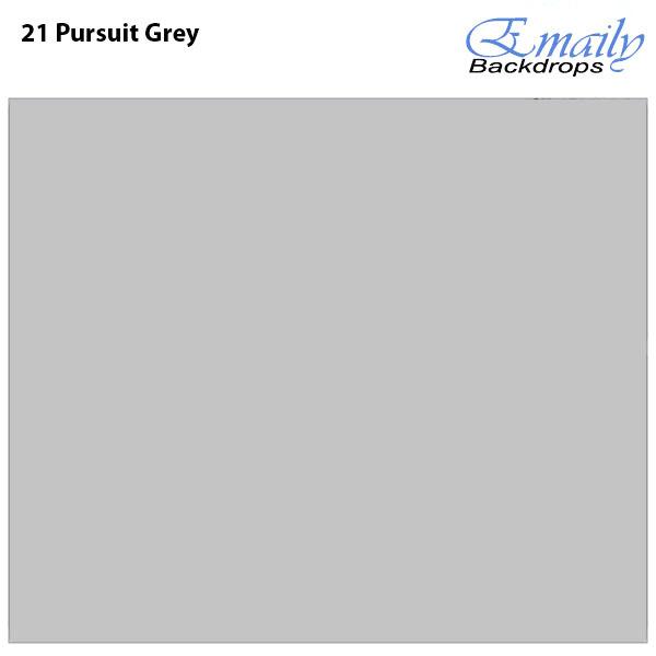 Fundo Infinito Fotográfico de Papel Rolo Cinza Pursuit Grey 2,70m x 10m  - Diafilme Materiais Fotográficos