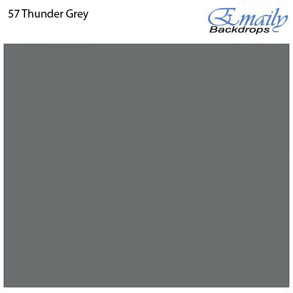 Fundo Infinito Fotográfico de Papel Rolo Cinza Thunder Grey 2,70m x 10m  - Diafilme Materiais Fotográficos