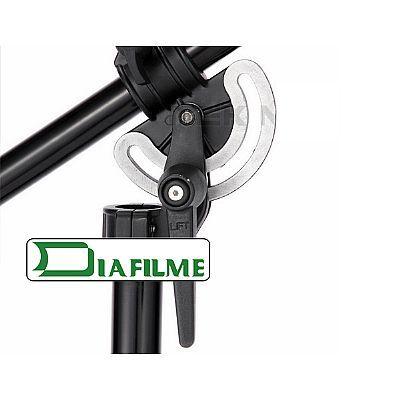 Girafa para Estúdio Fotográfico - Fotobestway FT1902B com rodízio - 4,0m  - Diafilme Materiais Fotográficos