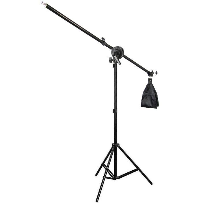 Girafa para Estúdio Fotográfico - FTRH-LS04 2,00m  - Diafilme Materiais Fotográficos
