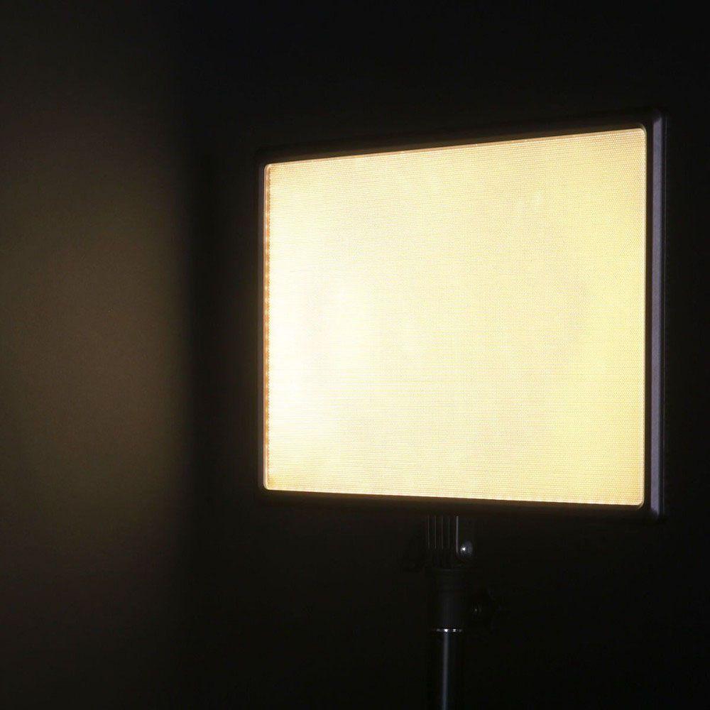 Iluminador Foto e Vídeo Led Panel LD620C 25W com Tripé LS200  - Diafilme Materiais Fotográficos