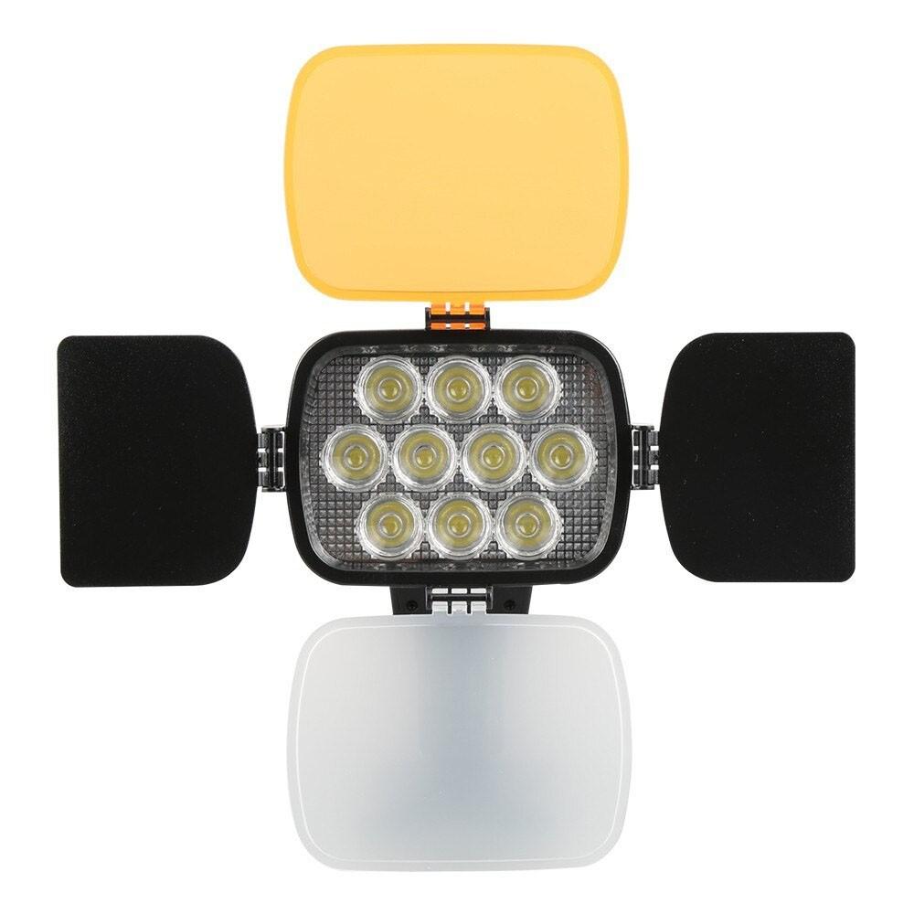 Iluminador Foto e Vídeo Led VL012 27W 10Leds  - Diafilme Materiais Fotográficos