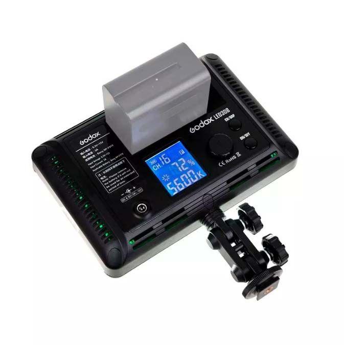 Iluminador Led Godox 308c Com Controle Remoto  - Diafilme Materiais Fotográficos