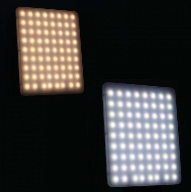 Iluminador Foto e Vídeo Led Panel LD520C 20W 144Leds  - Diafilme Materiais Fotográficos