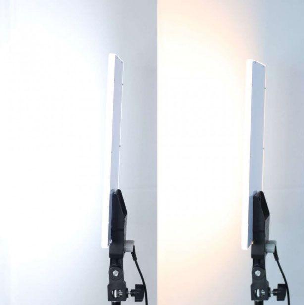 Iluminador Led Panel LD520C 20W 144Leds com Tripé LS200  - Diafilme Materiais Fotográficos