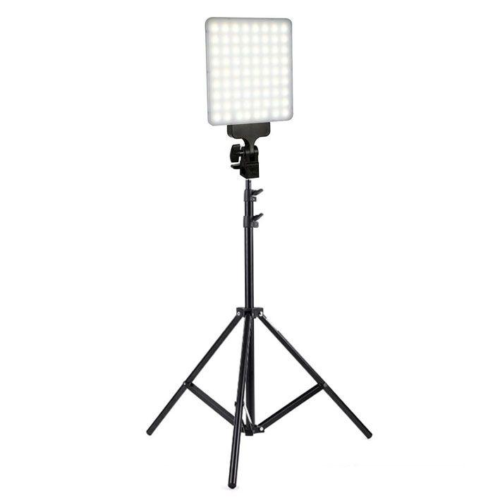Iluminador Led Panel LD520C 20W 144Leds com Tripé LS260  - Diafilme Materiais Fotográficos